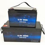 ໂຄງຮ່າງການລ້ ຳ ລວຍ LiFePO4 ຫມໍ້ໄຟພະລັງງານແສງຕາເວັນ 12V 100Ah / 200Ah ກາກບອນ Lithium Ion
