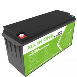 ຫມໍ້ໄຟຂະ ໜາດ ໃຫຍ່ 12.8v 150ah Lithium Battery ສຳ ລັບເກັບຮັກສາແສງຕາເວັນຢູ່ເຮືອນ