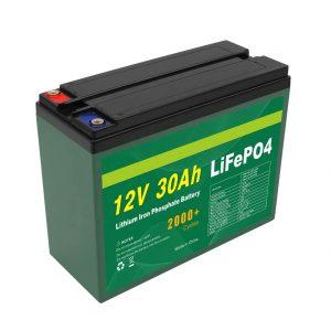 ແບດເຕີລີ່ OEM ສາມາດຜະລິດຄືນ ໃໝ່ ໄດ້ 12V 30Ah 4S5P Lithium 2000+ Deep Cycle Lifepo4 Cell ຜູ້ຜະລິດຈຸລັງ