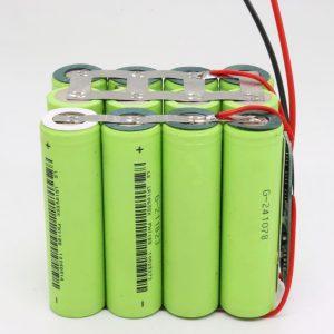 ຂາຍສົ່ງຂະ ໜາດ 18650 ລິລຽມ lithium 4s3p ກະດານ PCB ປ້ອງກັນນ້ ຳ ເລິກ 12v 10AH ສຳ ລັບເຄື່ອງມືພະລັງງານ