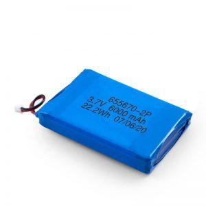 3.7v / 7.4v 3000mah li lithium polymer ແບັດເຕີຣີ 3.7v ດ້ວຍ 3000mah