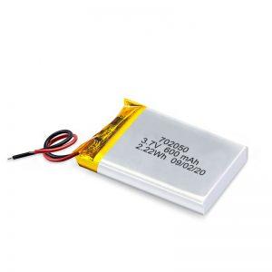 ປະເທດຈີນຂາຍສົ່ງແບັດເຕີຣີຂະ ໜາດ 3.7V 600Mah 650Mah Mini Li-Polymer Lithium Lithium Lithium Lithium Lithium