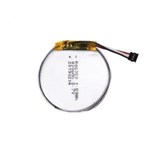 ແບດເຕີລີ່ທີ່ປັບແຕ່ງໂດຍ LiPO 46350 3.7V 350mAH smart watch ແບດເຕີຣີຂະ ໜາດ ນ້ອຍ 46350 ແບດເຕີຣີລິໂຄນຂະ ໜາດ ນ້ອຍ ສຳ ລັບຫຼິ້ນ